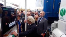 The Endesa station opening attracted significant interest.