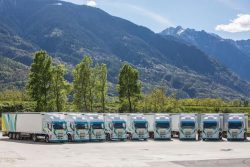 Iveco LNG Trucks for Maganetti Group 2016