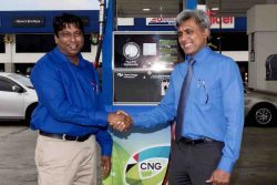 CNG pump launch South Trinidad