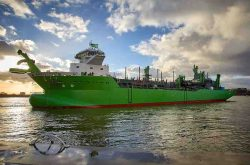 Royal IHC launches DEMEs LNG-powered TSHD Scheldt River