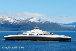 Torghatten Nord Ferry design by Multi Maritime