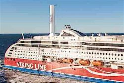 Viking Grace 2017 with Norseposwer rotor sail solution (closeup)