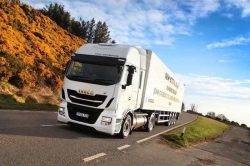 Iveco Stralis NP demo in UK