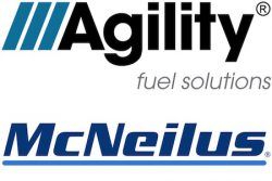 Agility and McNeilus logos