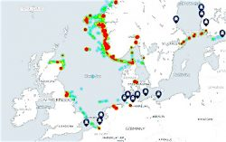 DNV GL LNG Interactive Map Extract