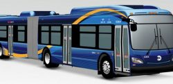 New Flyer XN60 Xcelsior for MTA NYCT 2017