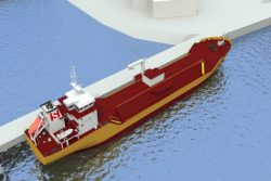 SNG small-scale DF LNG carrier