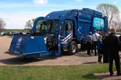 Hennepin County CNG Refuse Collection Vehicle