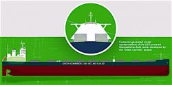 Green Corridor LNG fueled Newcastlemax