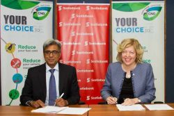 Trinidad's NGC_and Scotiabank sign Agreement