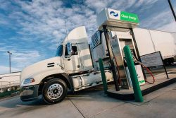 Clean Energy CNG Station Heavy Duty Trucking