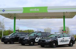 Muncie City Police Dept - new CNG fleet