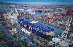 Port of Long Beach - CMA CGM BF Arrival