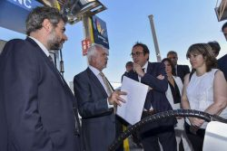 GNF and Petronieves open LCNG Station in Barcelona Jul2017