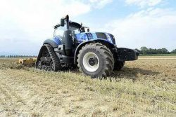 New Holland methane tractor trial