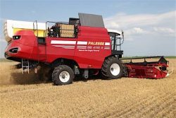 Gomselmash Combine Harvester CNG