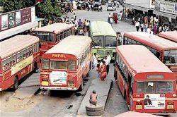 PMPML buses in Pune