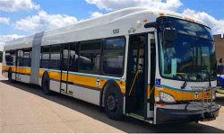 New Flyer 60ft CNG Bus for MBTA (Boston)
