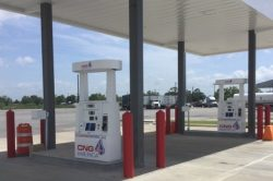 CNG 4 America station in Baytown TX