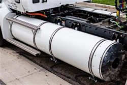 Worthington Industries Type 3 Rail Mount CNG System