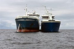 Maiden Delivery Voyage for Ice-class LNG Bunker Vessel