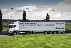 Scania and VW support sustainable logistics