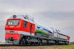 Main-line gas turbine locomotive Russian Railways