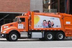 CNG-powered waste collection trial for GNF TGI EcoPetrol