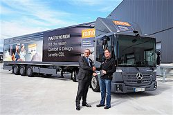 ROMA KG Mercedes Benz Econic NGT