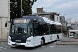 Scania Citywide LF CNG on trials in France