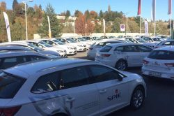 SPIE's Seat Leon Fleet at Bern STEP (1)