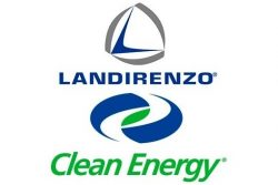 Landi Renzo and Clean Energy logos