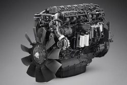 Scania 410hp gas engine