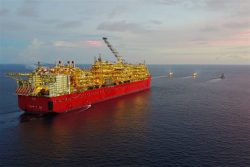 Image courtesy of Shell - Prelude FLNG