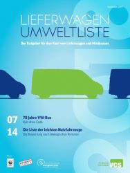 Switzerland clean environ vehicle list 2018