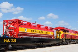Florida East Coast Railway - FEC 300 LNG tender