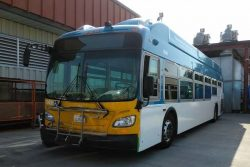 GET New Flyer CNG Bus in Bakersfield