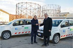 Italgas fleet conversion commences