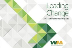 WM Sustainability Report Cover 2017