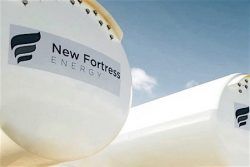 Jamaica - New Fortress LNG tanks