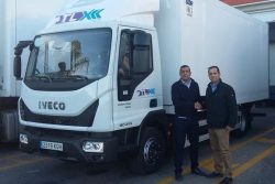Iveco Eurocargo Natural Power for TLX Murcia