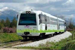 Renfe Prototype LNG passenger train