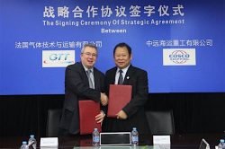 CHI and GTT Sign Strategic Agreement