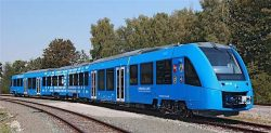 Alstom Coradia iLint H2 Train test in Germany