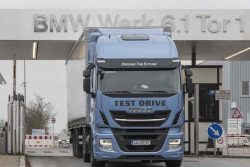 BMW tests Iveco LNG