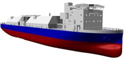 HMD design for ballast-free LNG bunker vessel
