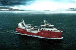 Nordlaks fishing wellboat LNG-battery hybrid