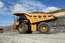 New Acland Mine HDCNG trial truck CAT789C