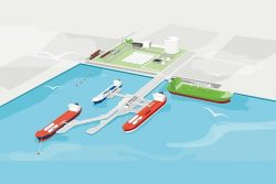 Swedegas LNG Terminal illustration