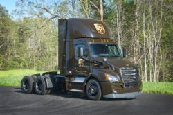 Freightliner New Cascadia CNG day cab for UPS